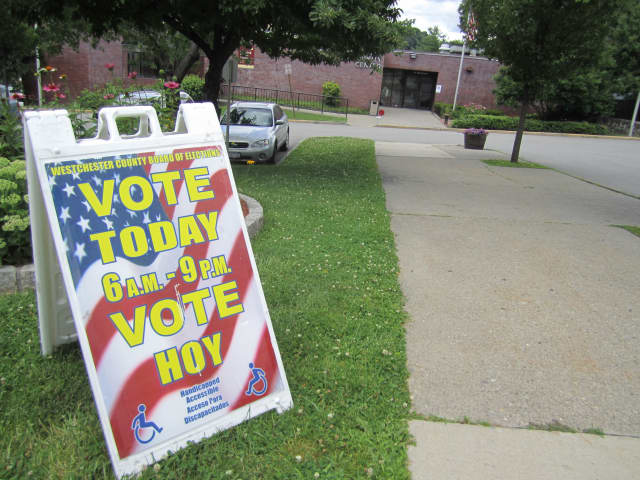 Westchester Board of Elections officials said Monday that all Ossining and Briarcliff Manor polling places would be open Tuesday.