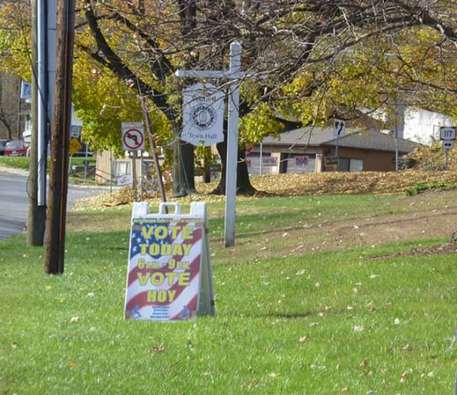 Voter turnout was high in Bedford so far Tuesday morning, according to election officials.