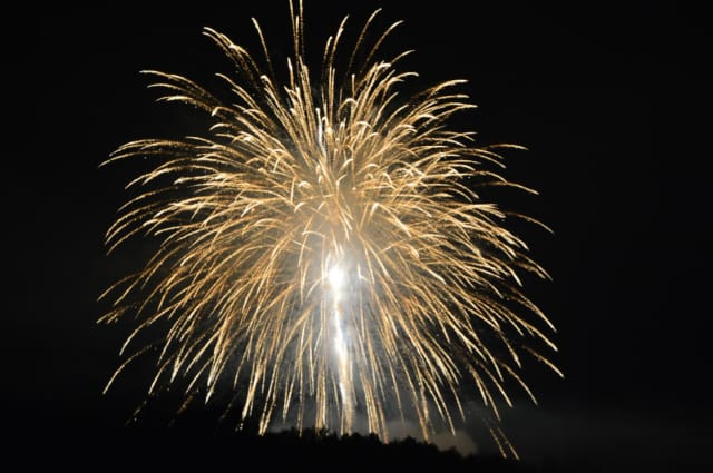 Fairfield's Independence Day fireworks show will blast off on Sunday.