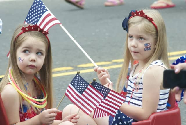 The sun is expected to shine brightly on Fairfield County's Fourth of July celebrations on Tuesday.