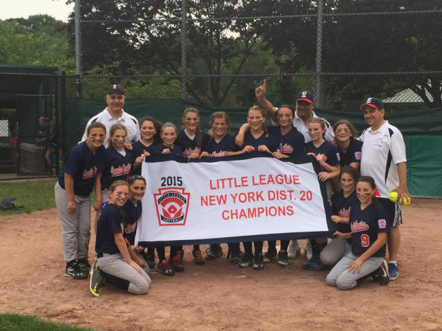 The Eastchester 12-and-under softball team won the District 20 crown.