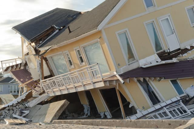 Somers residents are collecting donations for Breezy Point, an area hit hard by Sandy.
