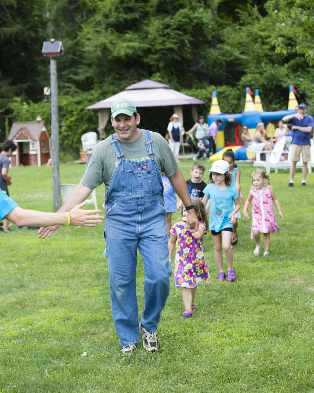 Farmyard lawn games will be among the days activities.