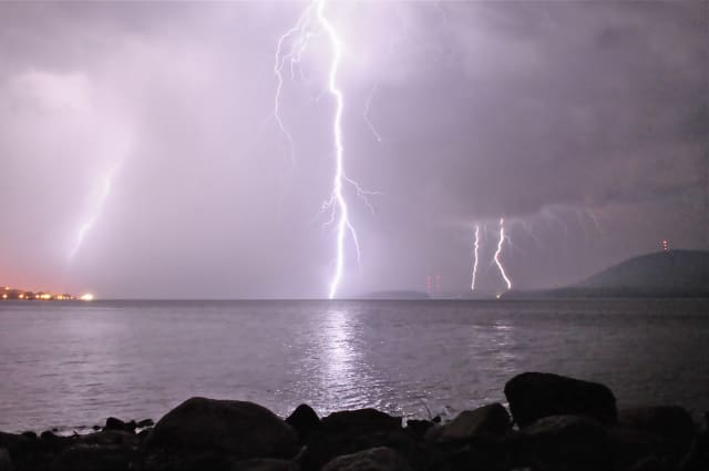 Lightning Strikes Man In Northport, Home In Mount Sinai As