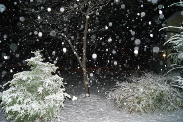 Reader Megan Torgerson sent us this photo from near her home in New Canaan.