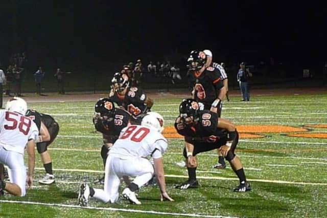 Ridgefield High School plays Harding in football at 7 p.m. Friday.