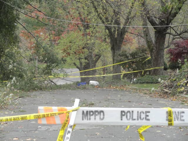 Thousands of residents in Mount Pleasant are still without power ten days after Hurricane Sandy.