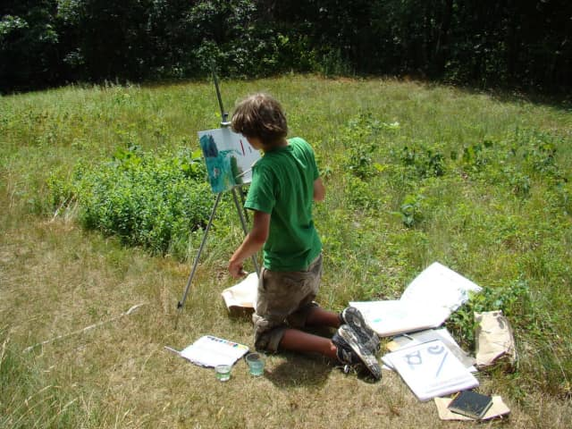 A free workshop will teach young artists in the finer points of Impressionist painting at Weir Farm.