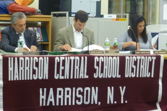 The Harrison Board of Education will meet Wednesday night.