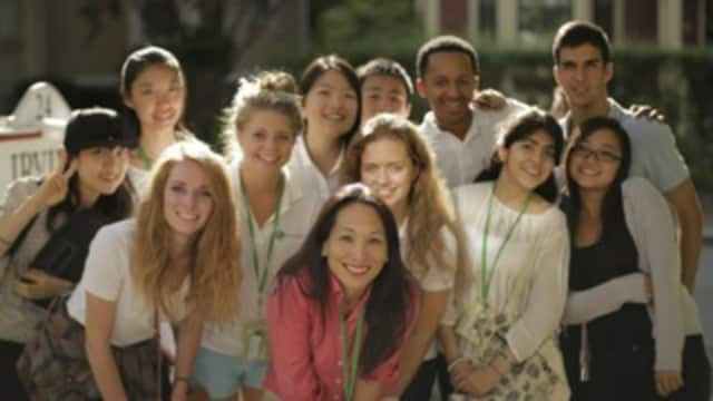 Some of the participants chosen for the Global Citizens Youth Summit.