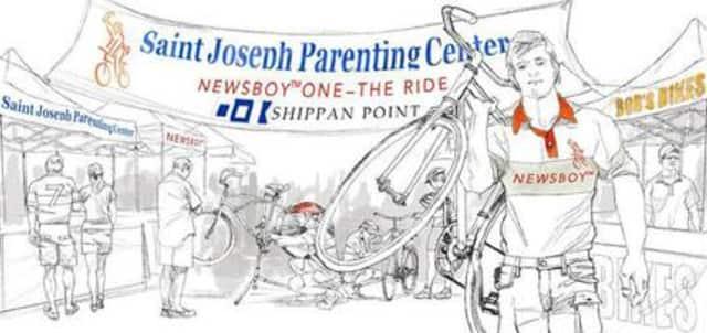 The Saint Joseph Parenting Center's inaugural Newsboy One ride kicks off July 11.