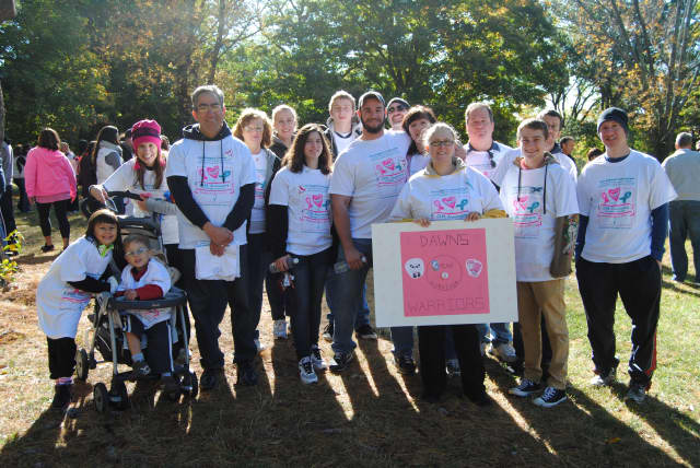 One of the many Teams that took part in the 2014 Support-A-Walk.