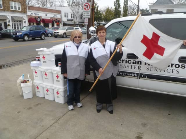 New Volunteers Spur Greenwich Red Cross Relief Efforts