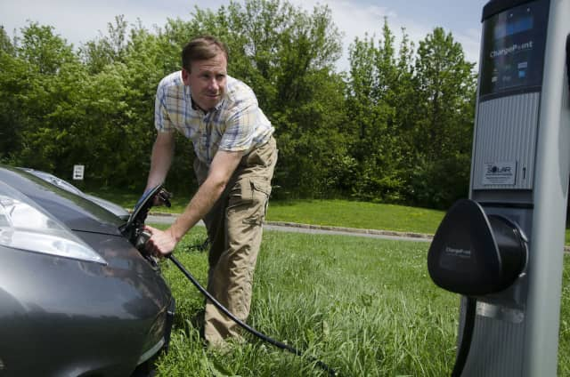 Purchase College-SUNY has joined the U.S. Department of Energy's Workplace Charging Challenge, a national program that aims to increase the number of employers offering workplace charging for plug-in electric vehicles.