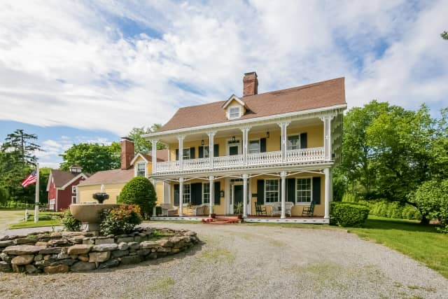 The Griffen Homestead in Rye is listed at $2,375,000 by Julia B. Fee Sotheby's International Realty.