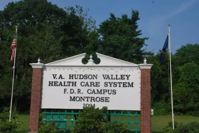 A gas leak was repaired at the Montrose VA.