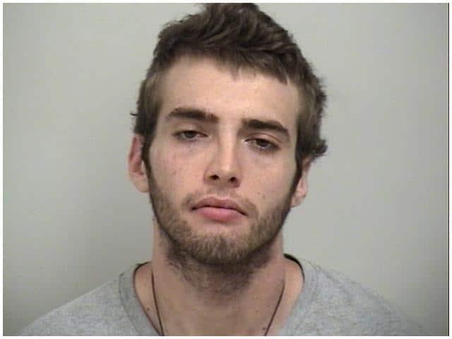 Aaron Everhart was arrested by Westport Police following a dispute July 4.