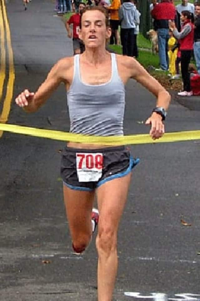 Mary Zengo of Wilton won the Boilermaker 15k Sunday at Utica, N.Y.