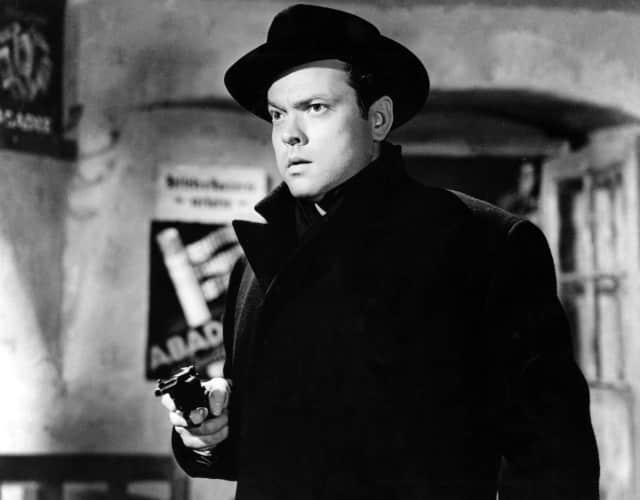 Orson Welles in Carol Reed's 'The Third Man' (1949).