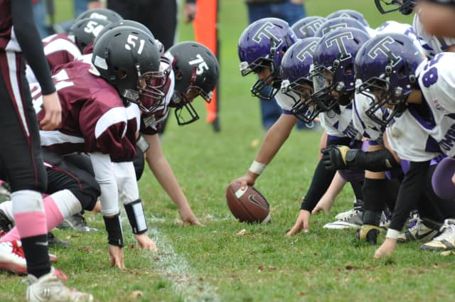 Football is one of several sports that will be part of Bridgeport's 5th annual Healthy Kids Day.