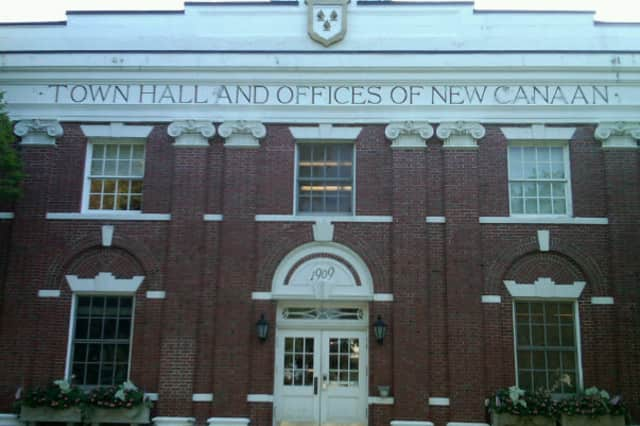 New Canaan Town Hall.
