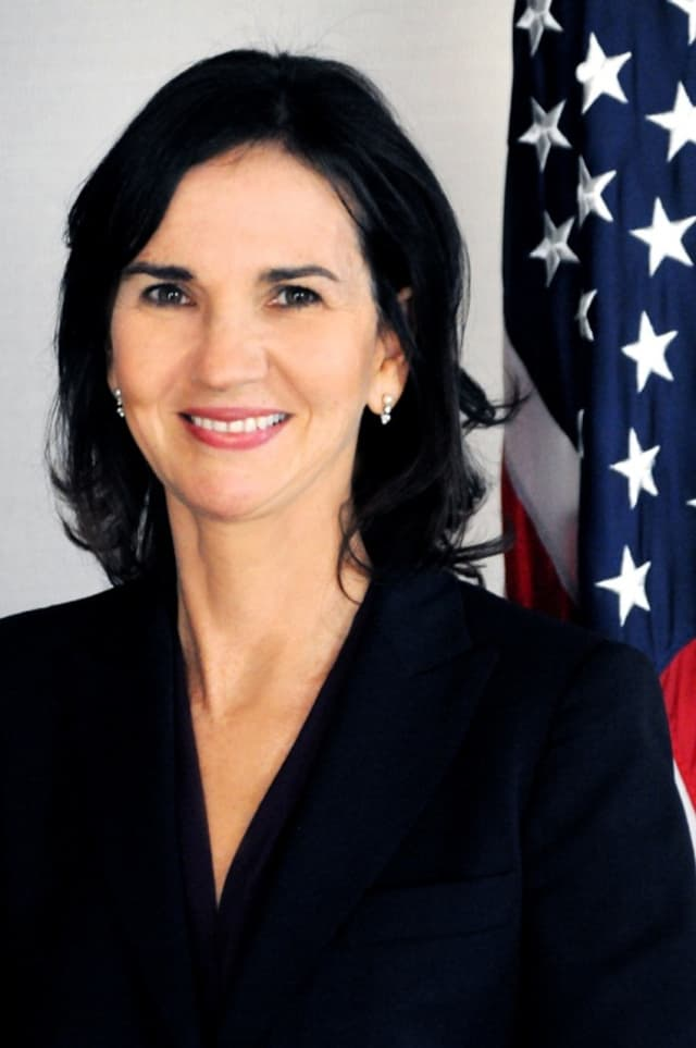 U.S. Attorney for Connecticut Deirdre Daly announced the arrest of three Chinese nationals in a scheme to sell stolen U.S. military semi-conductor parts.