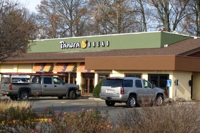 Crews are putting the finishing touches on Panera Bread's new location on Black Rock Turnpike in Fairfield.