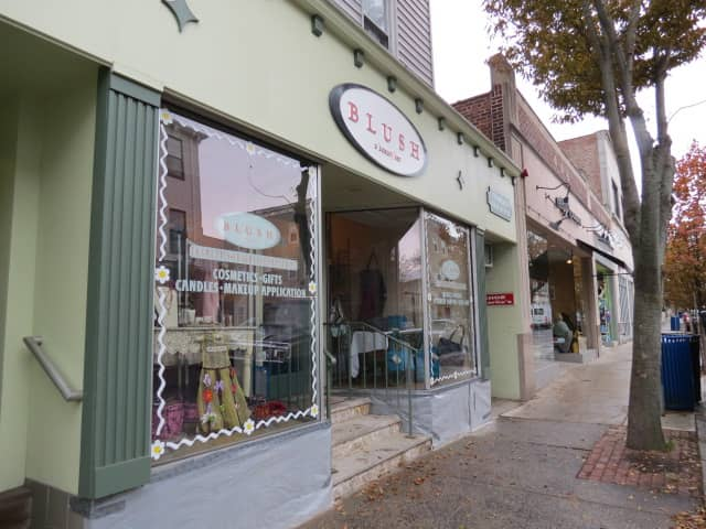 """Blush Beauty Bar can expect to get """"mobbed"""" by shoppers on Tuesday as part of a local effort to support Rye businesses."""