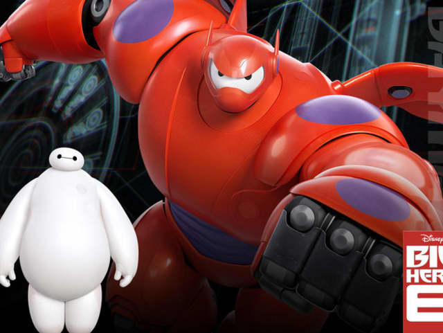"""""""Big Hero 6"""" will screen at Saxon Woods Pool on Wednesday."""