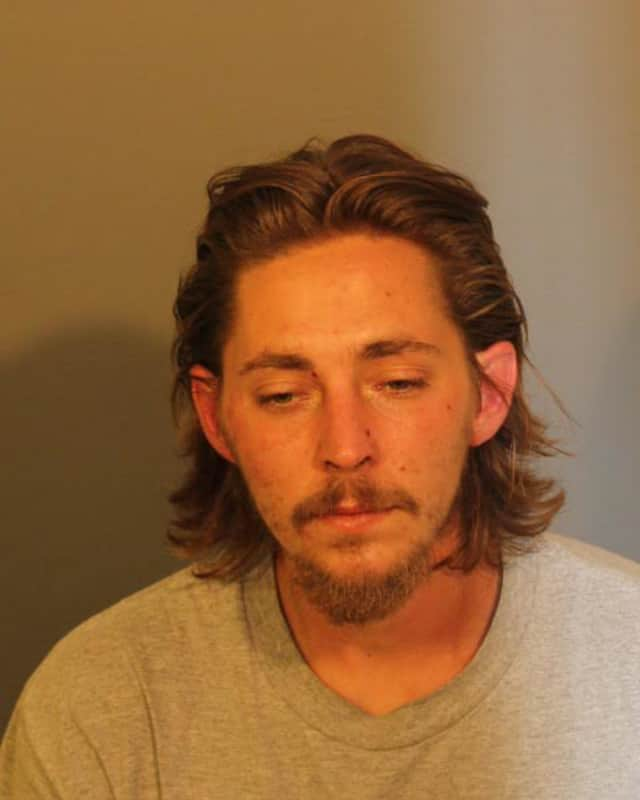 William Oboy is facing drug and weapons charges after a police chase through Danbury.