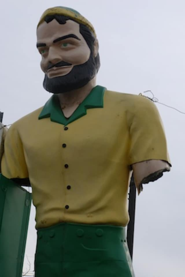 Where can this giant be found in Greenburgh or Elmsford?