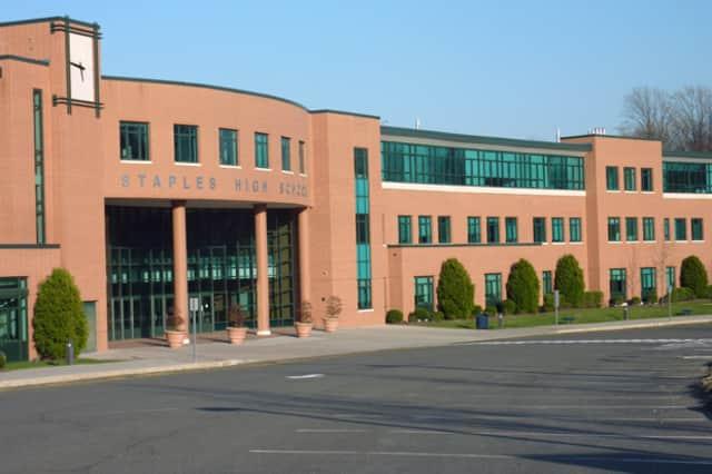 Staples High School is the centerpiece of the Westport School District.