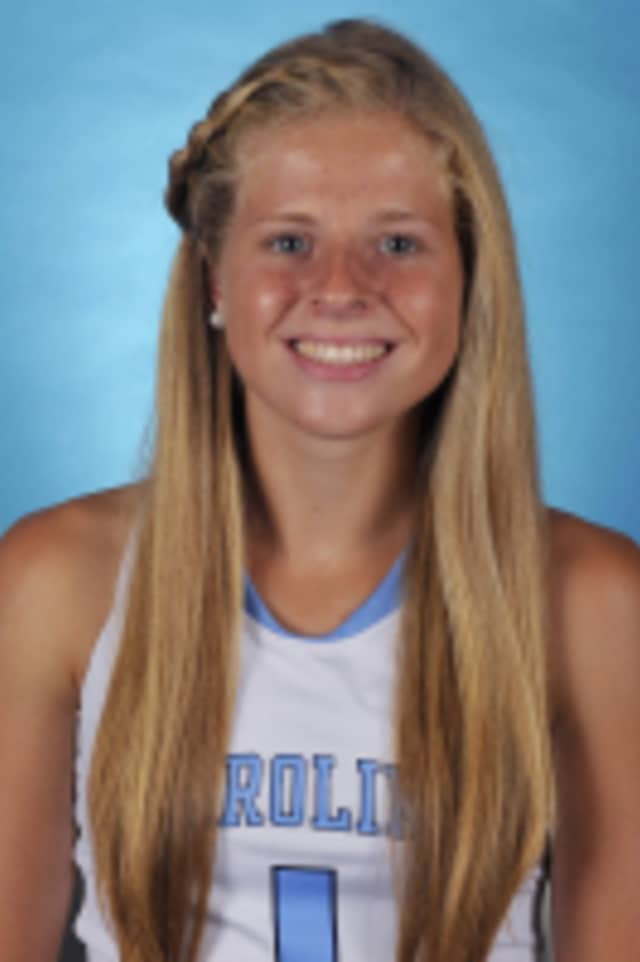 Freshman Emma Bozek, a Lakeland graduate, and her University of North Carolina teammates advanced to the title game of the NCAA Division I Field Hockey Championships/.