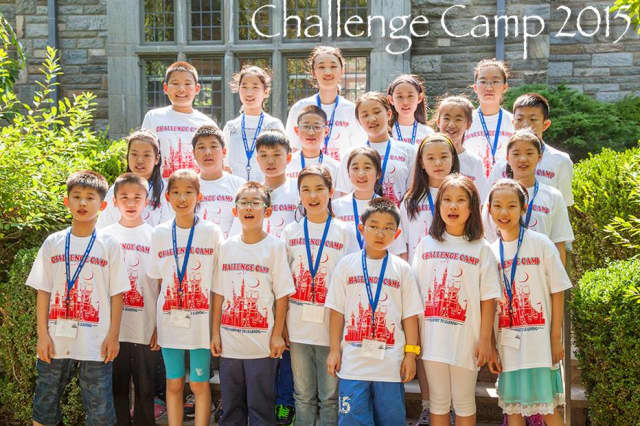 Challenge Camp in Harrison has been hosting students from the Shanghai Xuhui Aiju Primary School in China this week.