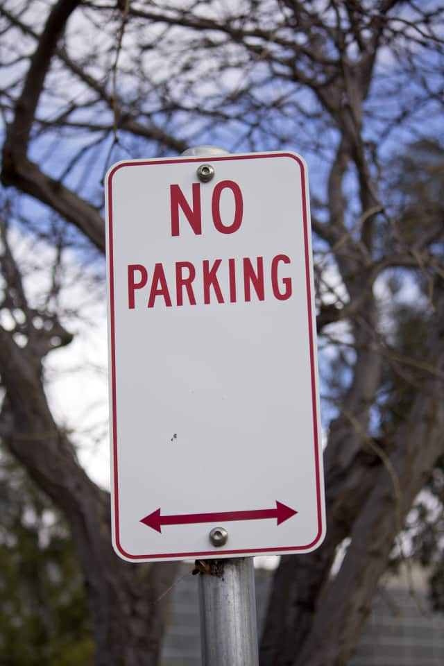 Paxton Avenue in Bronxville will have parking restrictions this week.