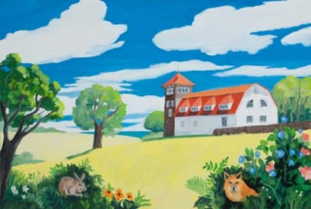 """Estia's Back Porch Cafe will present painter Barbara Thomas' """"Seasons and Places"""" gallery through Sept. 7."""