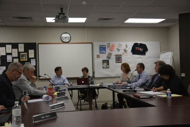 The Bedford Central school board welcomes members of the community to a new school year.