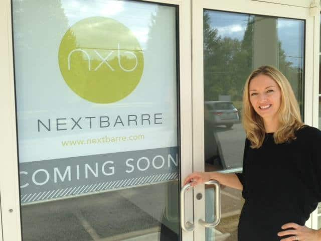 NextBarre co-owners Heather Queiroz of Mount Vernon, seen here, and Diana Pecci won grand prize this spring in Mindbody's Big Goals Big Rewards Competition national contest.