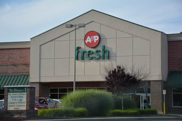 The Mount Kisco A&P, which will be converted into a Stop & Shop following the company's successful bankruptcy auction bid, which was for more than $25 million.