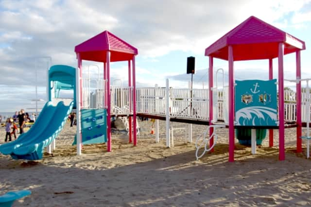 """""""This measure represents a great step forward for our state, safeguarding our children from these toxic chemicals on town playgrounds."""" said Rep. Andrew Fleischmann, House Chairman of the Education Committee."""