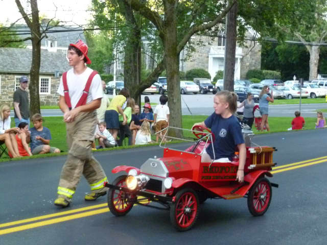 The Annual Fireman's Parade in July 2014.