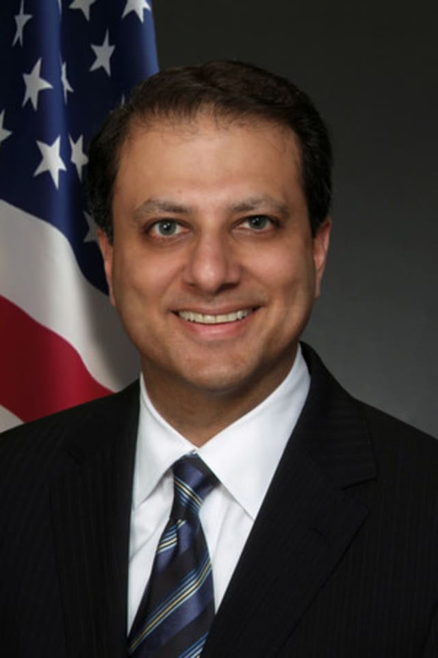 Preet Bahara, U.S. attorney for the Southern District of New York, announced the sentencing of a Middletown man for his role in a string of armed robberies.
