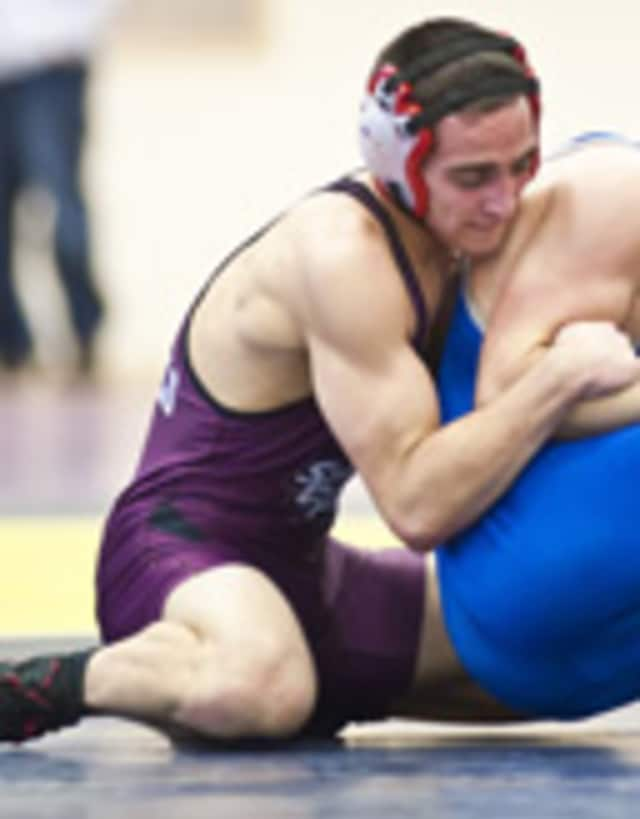 Springfield's Joey Grippi, a Fox Lane graduate, won his second consecutive 141-pound title at the Doug Parker Wrestling Invitational.