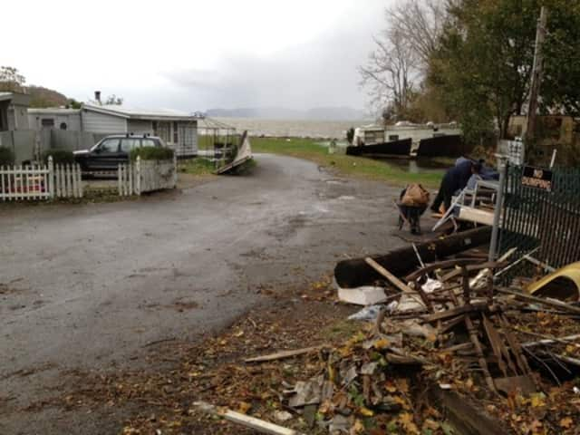The fate of Verplanck's Riveredge trailer park is unclear as all of the remaining units must be repaired before they can be lived in.