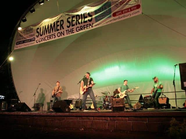 CityCenter Danbury will host several concerts in August.