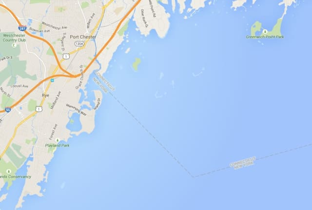 Port Chester Police rescued two paddle boarding teens struggling against the current on July 22 two miles south of Rye's Manursing Island.