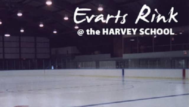 Enjoy a holiday ice skating event Friday at Evarts Rink at the Harvey School.