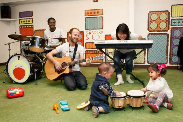Songs for Seeds, an interactive music education class for children, will be coming to Scarsdale.