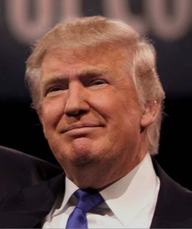 Donald Trump received the endorsement of Greenwich's top Republican.