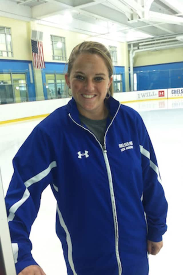 Chelsea Piers Youth Hockey Director Sam Faber scored in the Connecticut Whale's 3-2 victory over the Buffalo Beauts in National Women's Hockey League action Sunday at Chelsea Piers in Stamford.